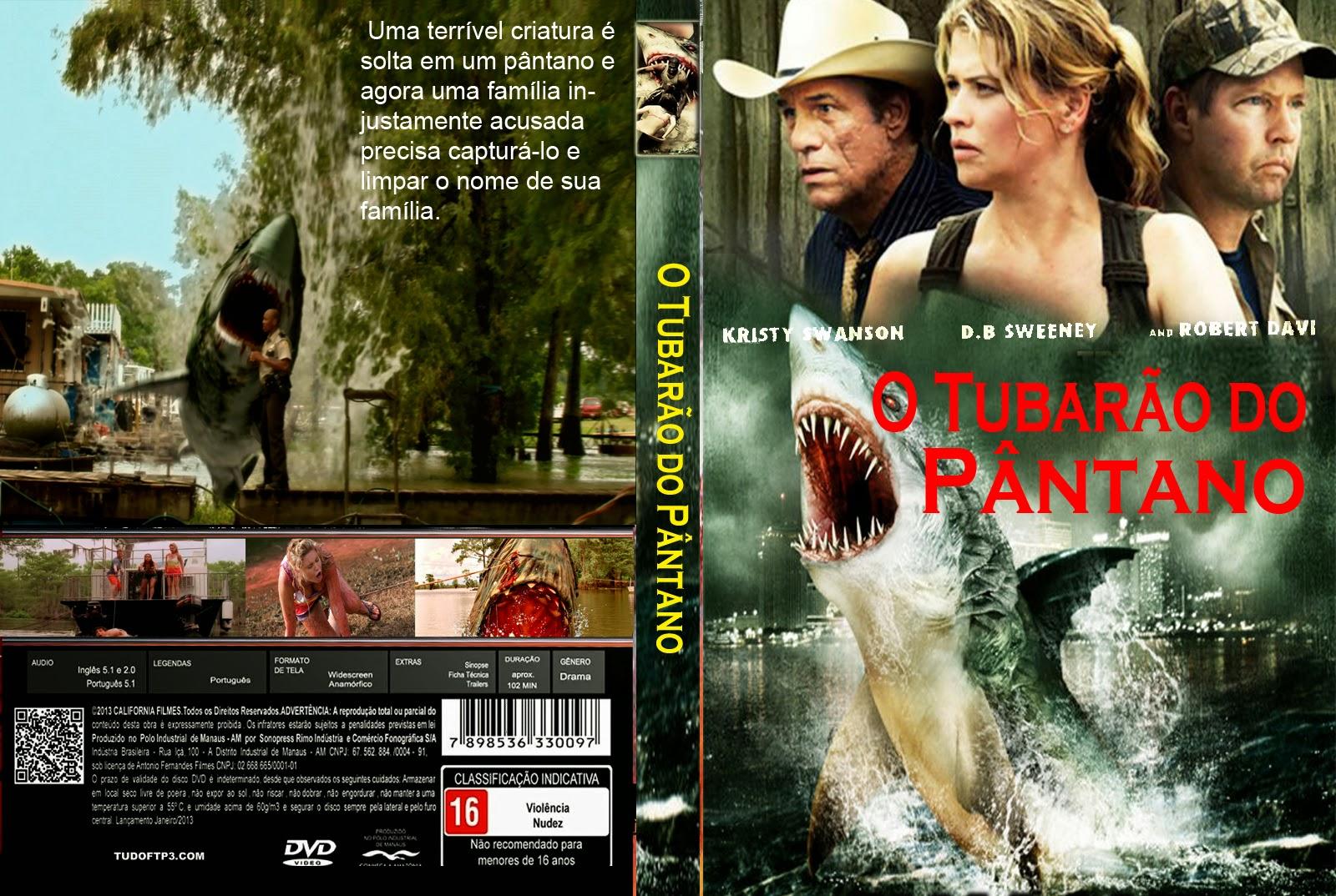 filme o tubaro do pantano