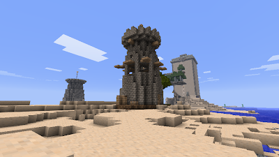 Tutorial] How to build a Warcraft II - Style Tower! - Survival Mode