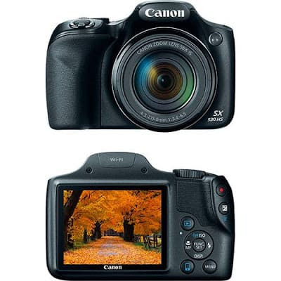 Foto da câmera Canon PowerShot SX530HS