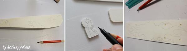 tutorial 2 decorazione biplano di legno con la matita