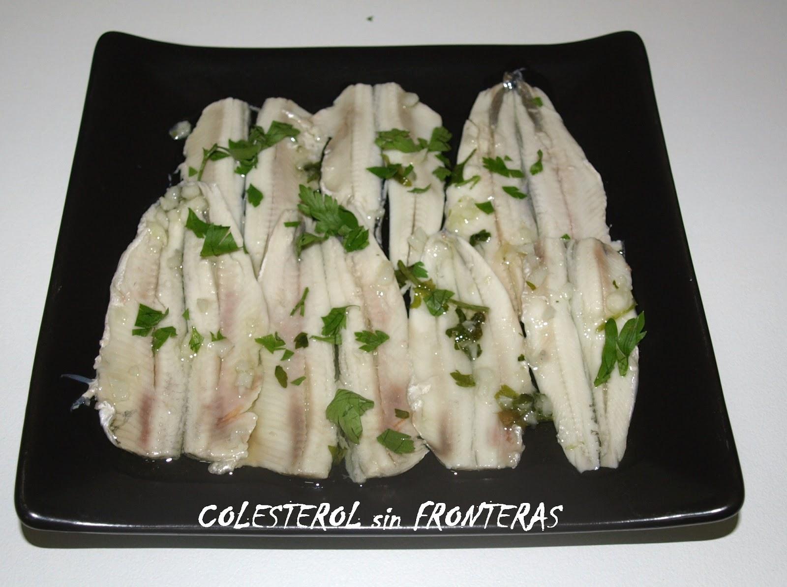 Colesterol sin fronteras boquerones en vinagre - Boquerones en vinagre duros ...