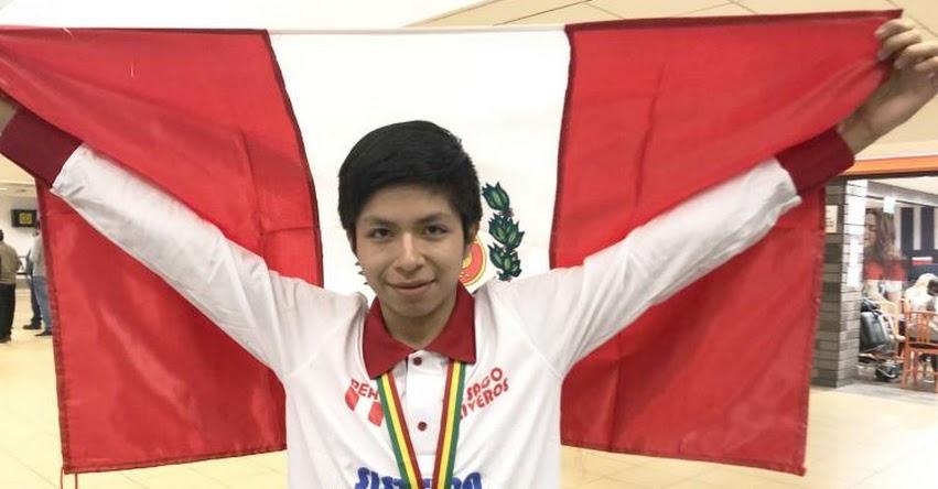 MIJAIL GUTIÉRREZ BUSTAMANTE: Estudiante peruano gana medalla de oro al obtener nota 20 en Sudamericano de Matemática realizado en Bolivia