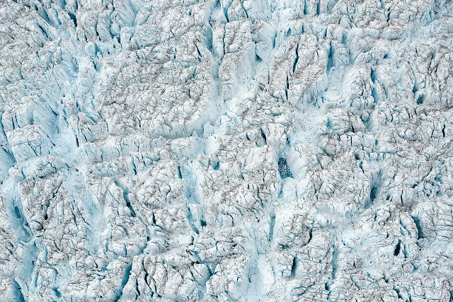 Breathtaking Aerial Views of Melting Ice Sheet in Greenland