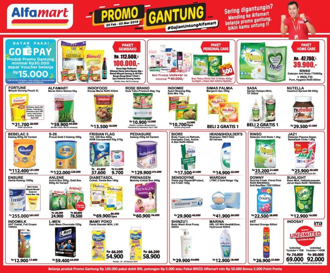 #Alfamart - #Promo #Katalog Gajian Untung Periode 25 Feb - 03 Mar 2019