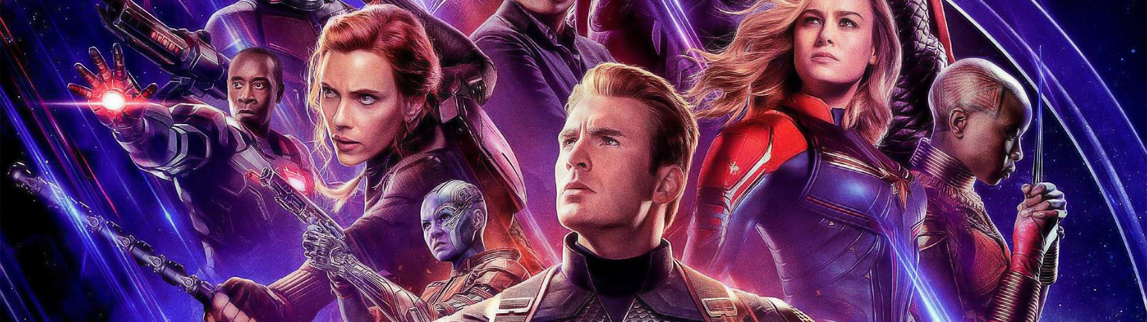 Avengers Endgame Cast 4k Wallpaper 37