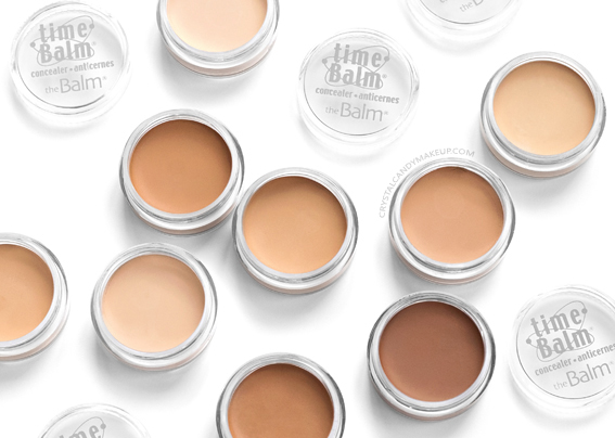 TheBalm TimeBalm Full Coverage Concealer Swatches Review Photos All Shades Before After MAC Equivalents