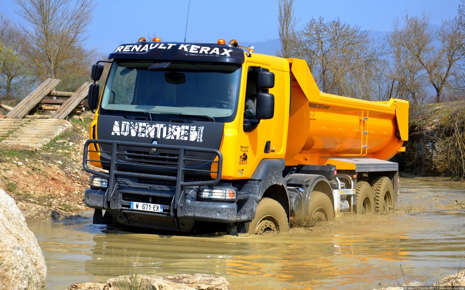DALNOBOI.ORG | Renault Kerax обои