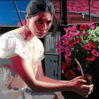 Бразильский художник. Damian Octavio