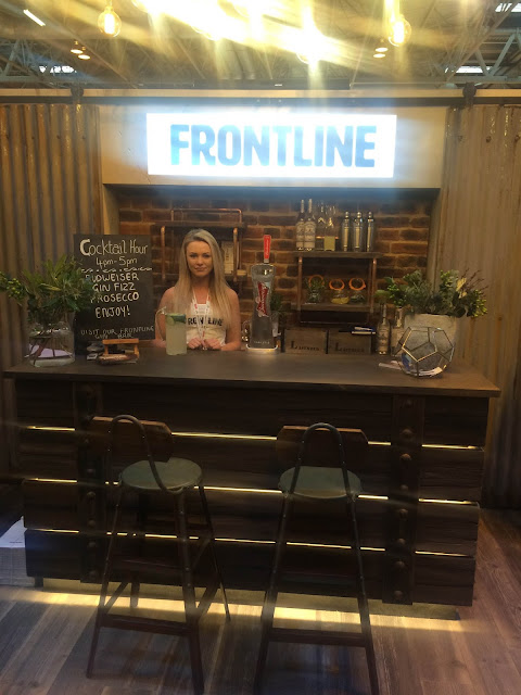 Frontline Bathrooms NEC Promotional Staff
