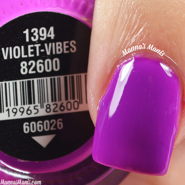China Glaze Electric Nights Violet Vibes swatches
