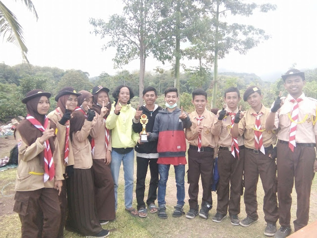 Tunggangi Merak, Pramuka SMA Negeri 4 Bantaeng Pulang Bawa Piala