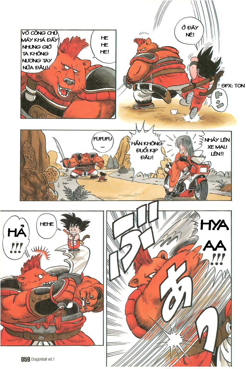 Dragon Ball chap 3 trang 11