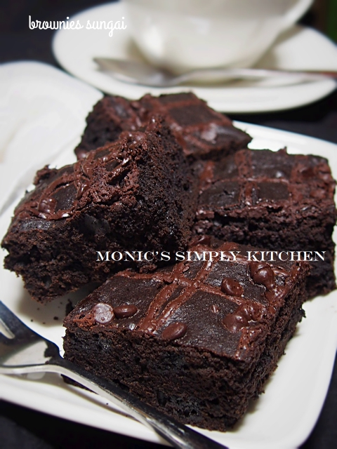 resep brownies sungai ummu allegra
