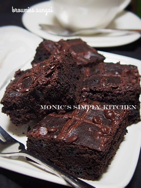 resep brownies sungai ummu allegra