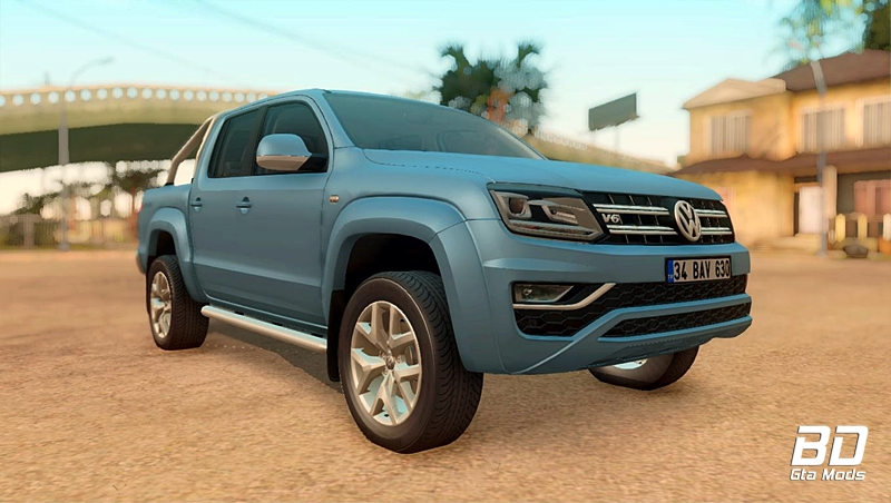 Download mod carro pickup Volkswagen Amarok V6 para GTA San Andreas