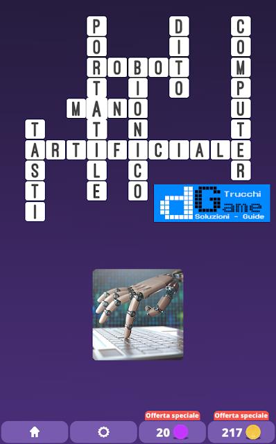 Soluzioni One Clue Crossword livello 24 schemi 14 (Cruciverba illustrato)  | Parole e foto