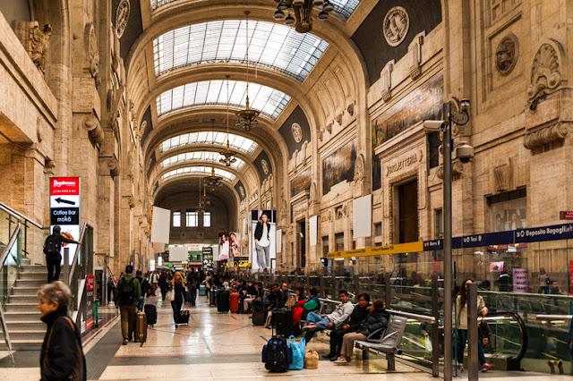 Estação Milano Centrale em Milão