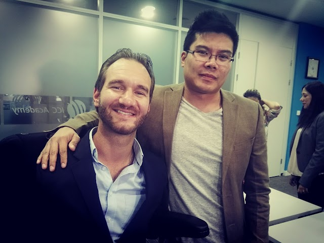 An afternoon of inspiration with Nick Vujicic in Dubai