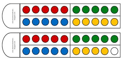 Im Anfangsunterricht können deine Schüler ihre mathematischen Kenntnisse zu Zahlwahrnehmung verbessern, gleichzeitig den Wortschatz der Zahlen von 0 bis 20 wiederholen, In sprachlich heterogenen Gruppen ist das wichtig, weil die Schüler ihr Zahlverständnis erst sichern müssen, um weiterführende Aufgaben verstehen zu können.