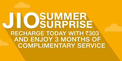 All you need to know about Reliance Jio 'Summer Surprise' offer