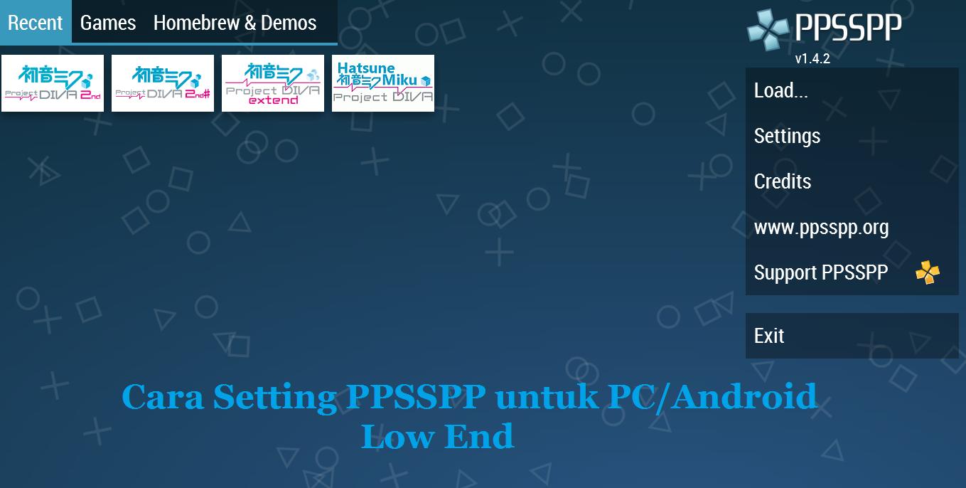 Cara Setting PPSSPP Agar Lancar dan Grafik Jernih di PC