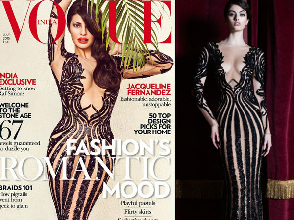 Jacqueline Fernandez and Akshay Kumarz On The Vogue Cover 2