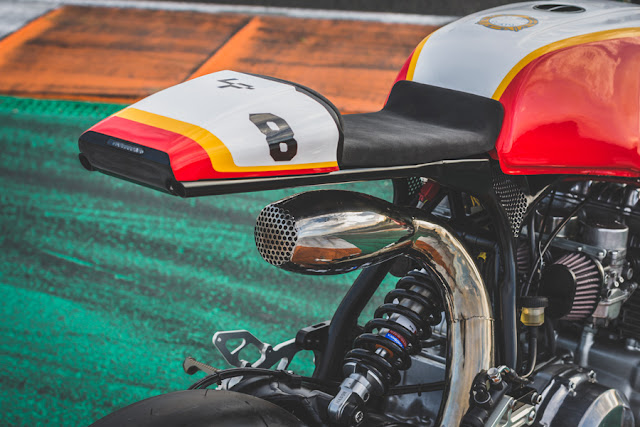 Honda CB750F By Bolt Motor Co. Hell Kustom