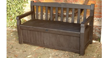 Keter Eden 70 Gal All Weather Outdoor Patio Storage Bench Deck Box Keter Deck Box & Keter Deck Box ~ Outdoor Furniture