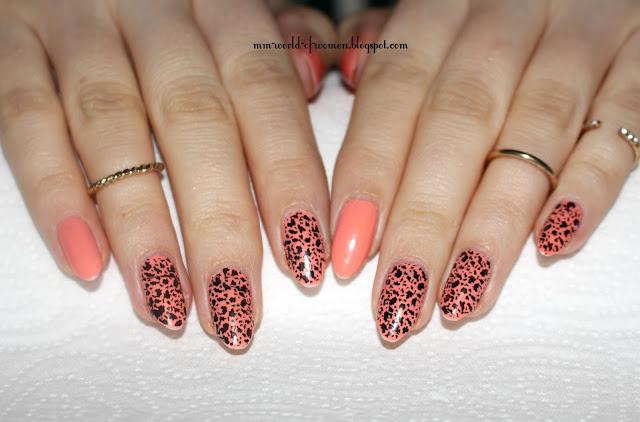Ciapki, ciapeczki czyli leopardowy manicure