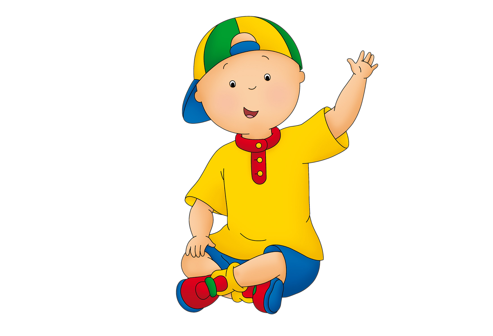 Cartoon Characters: Caillou (HQ PNG)