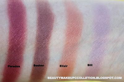 colourpop cosmetics swatch haul eyeshadows zingara