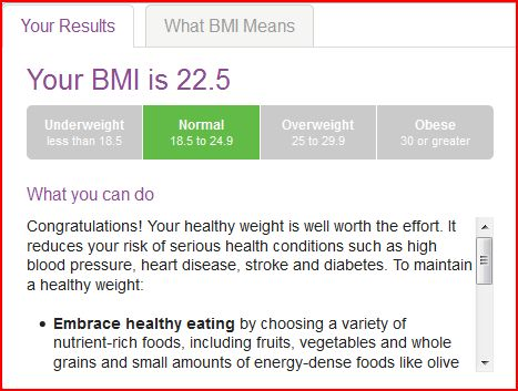 Collecting My Thoughts Bmi Calculator From Mayo Clinic