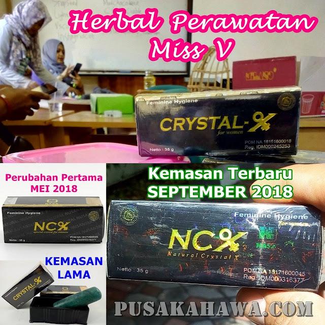 Toko Online Crystal X Herbal Keputihan NCX NASA