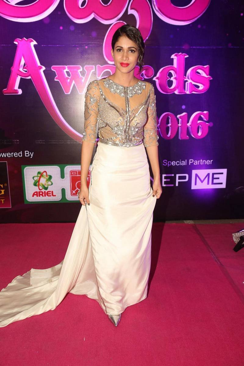 Lavanya Tripathi Stills at Apsara Awards