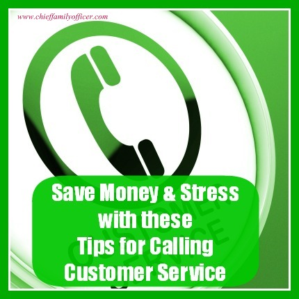Save Money & Stress When Calling Customer Service - chieffamilyofficer.com