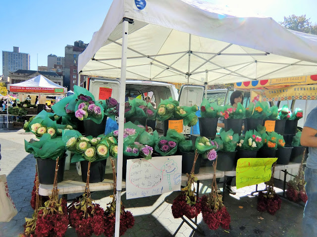 Green market - Union Square - New-York - flowers