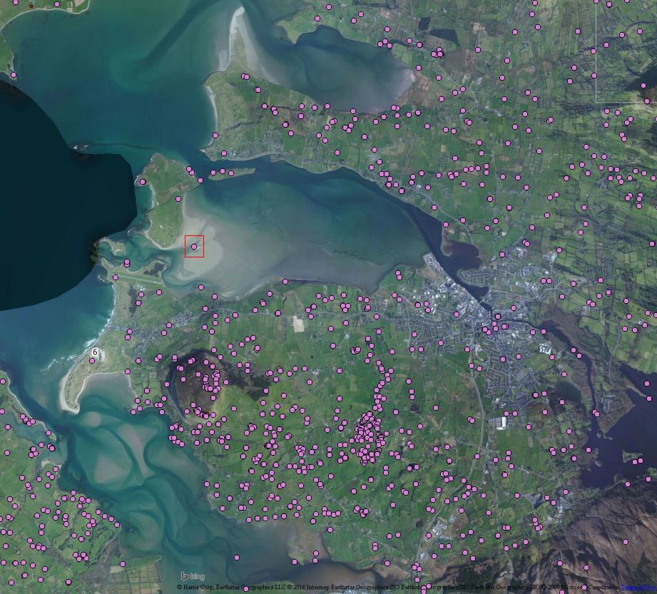 Dernish Island Townland, Co. Sligo