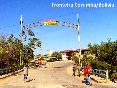 Fronteira Corumbá / Bolívia. Imagem retirada da internet. Meramente ilustrativa.