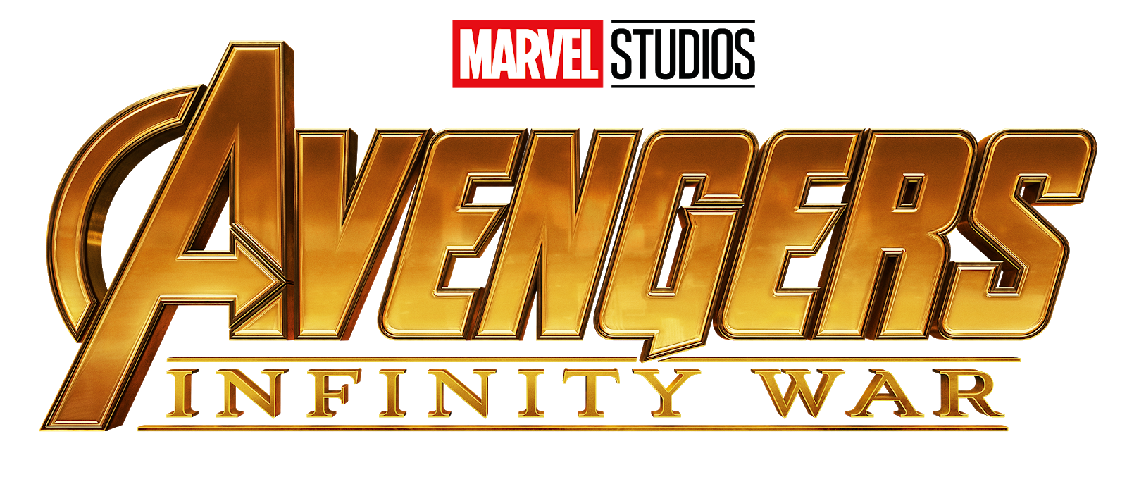 AVENGERS: INFINITY WAR - 2 Logos PNG 2 - Textless Movies