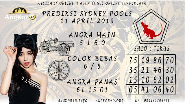 Prediksi Angka Jitu SYDNEY POOLS 11 APRIL 2019