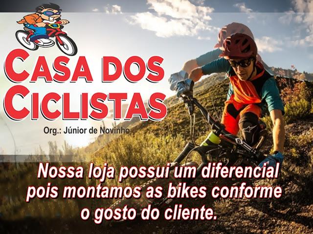 VISITE A LOJA CASA DOS CICLISTA EM SANTA CRUZ/RN.