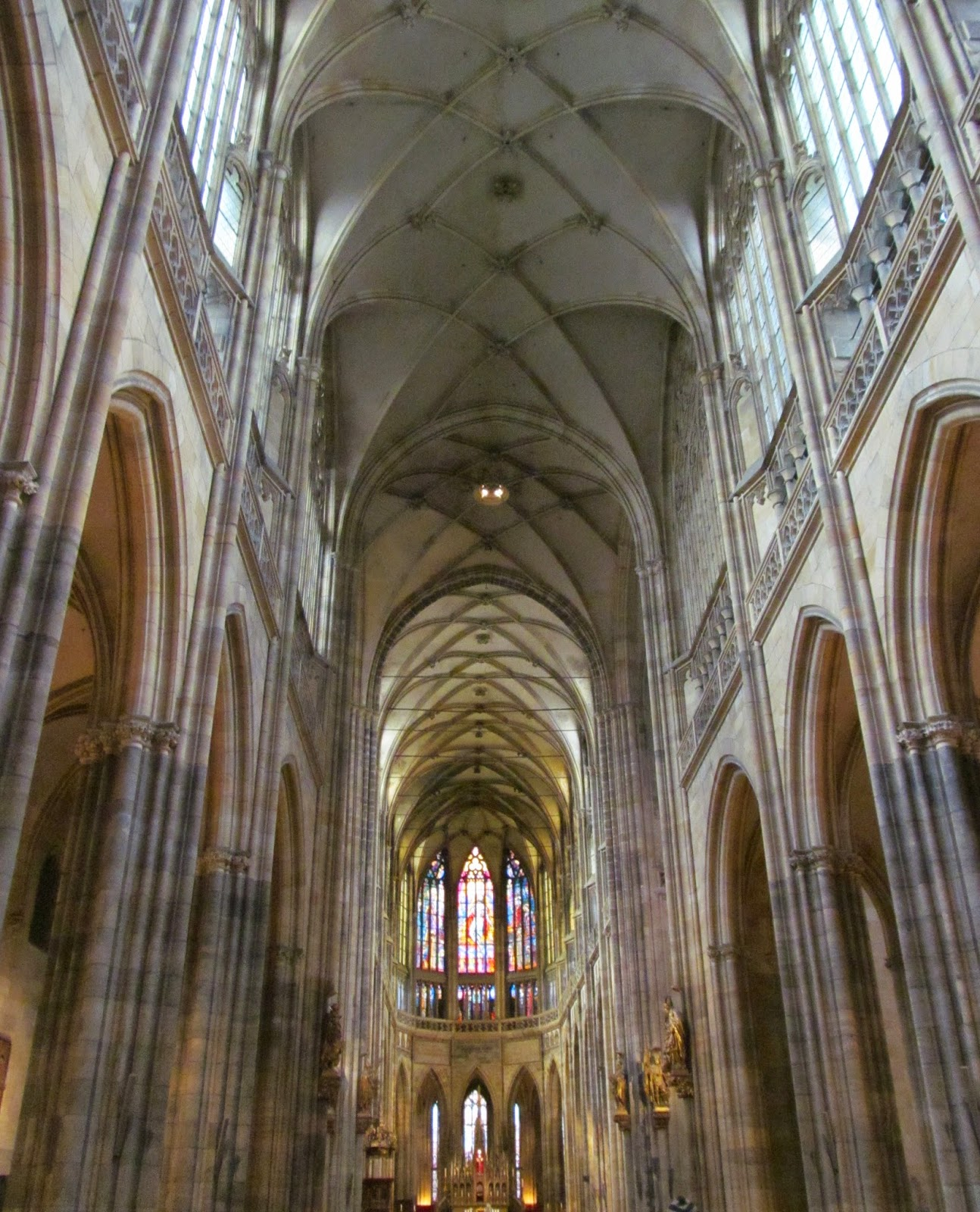 st vitus cathedral inside