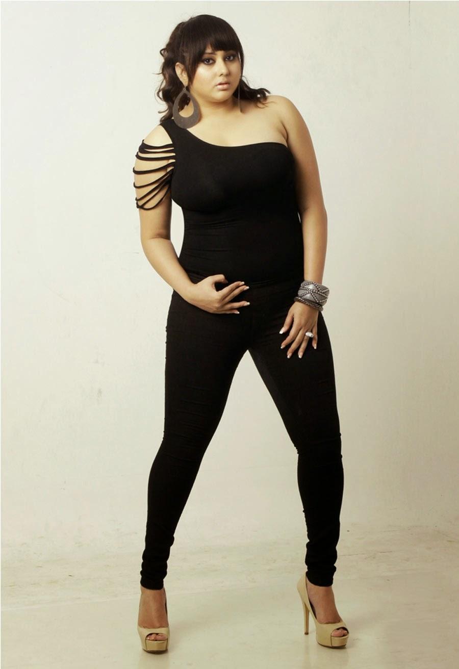 Kollywood Actress Namitha Hot In Black Mini Skirt Photos -6285