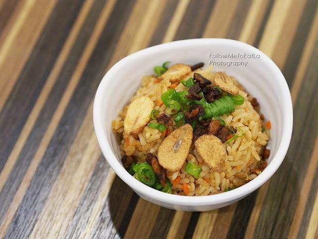 Bacon Garlic Fried Rice