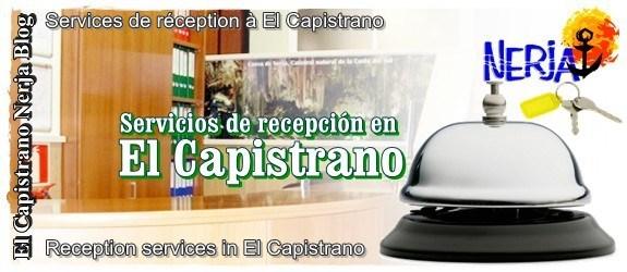 servcios de recepcón en El Capistrano - Nicosol, SL.