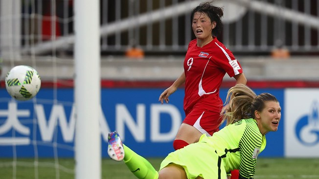 Korea DPR into final as USA sunk in extra time