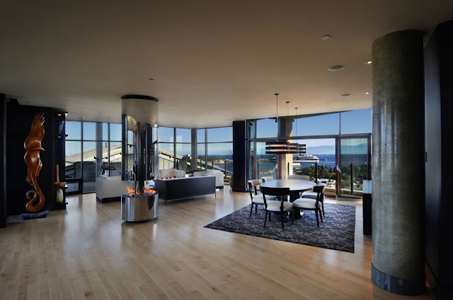 Picture of modern penthouse interiors