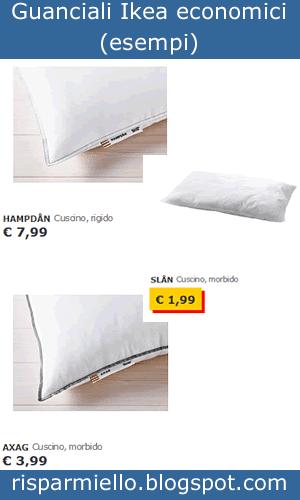 Risparmiello Ikea cuscini letto prezzi economici