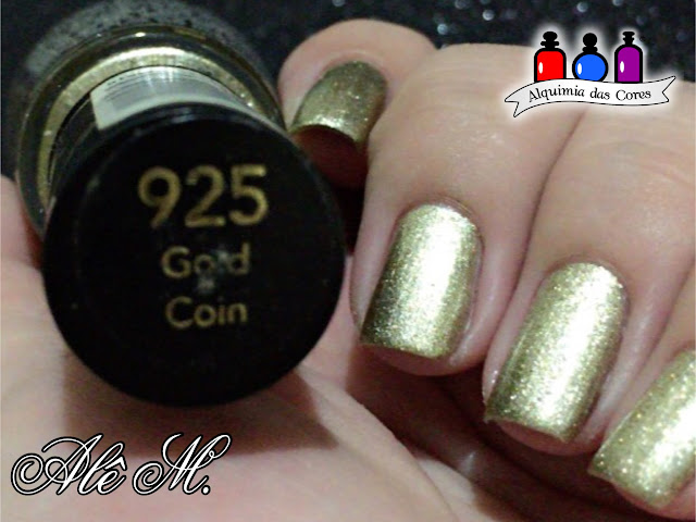 Revlon, Revlon Metallic Collection, 925 Gold Coin, 932 Cooper Penny, 928 Silver Dollar, Dourado, Prata, Cobre, Sugar Bubbles, SB052, DRK Nails, Extra Black DRK Nails, Carimbado, Alê M.