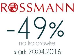 Wielka promocja -49% w Rossmannie-co warto kupić i czy ja skorzystam